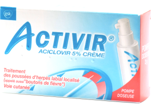 Activir 5%, crème