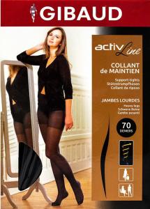 Activline Collant 70 d noir T1