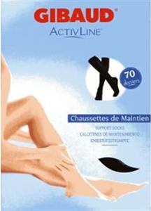 Activline chaussettes de maintien noire t1