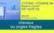 Cystine / vitamine b6 biogaran conseil 500 mg/50 mg, comprimé pelliculé