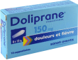 Doliprane 150 mg, suppositoire