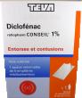 Diclofenac ratiopharm conseil 1%, emplâtre médicamenteux