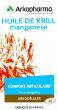 ARKOGELULES  Huile de krill Manganèse